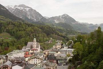 Über den Dächern von Berchtesgaden